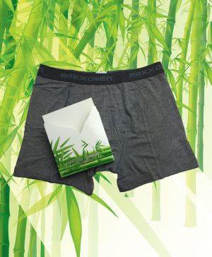 Maxx Owen bamboe boxershort grijs