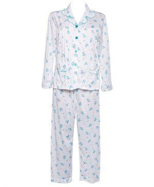 Pyjama klassiek Blauw